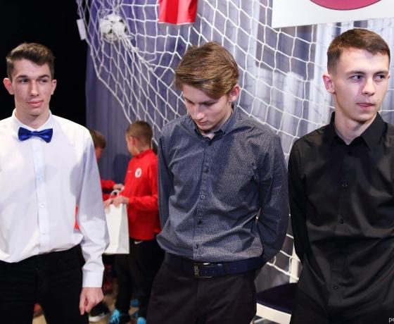 z leva:  Dominik Baňa, Štěpán Alexa, Alexandr Rek
