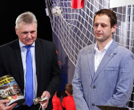 z leva: Vladimír Kristýn, Ondřej Hruška